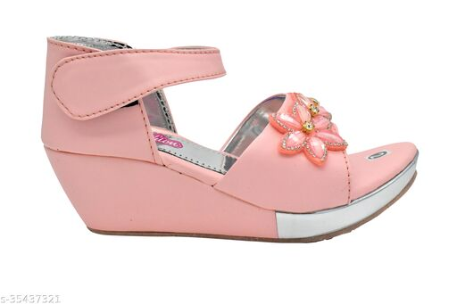Fuzzy Stylish Kids Girls Sandals