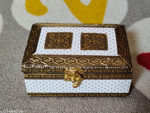 Wooden Handmade Jewellery Box for Women Pooja Box & All jewellery boxes tipe