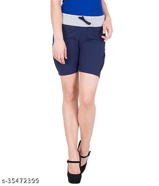Women's/Girls Runnin, Gym, Sports Cotton Shorts