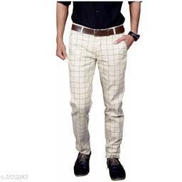 Elite Stylish Cotton Men's Trouser's