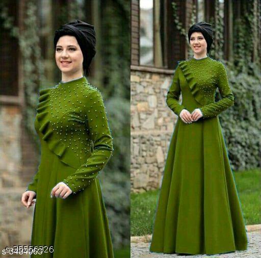 Anastasia Graceful 14 KG Rayon Women's Dress