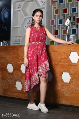 Stylish Taffeta Silk Dress