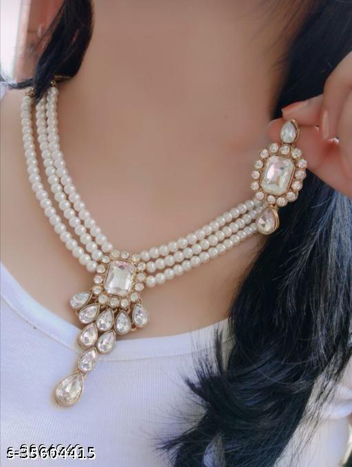 Choker Necklace Set
