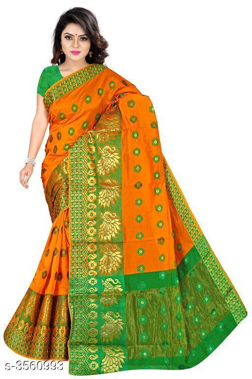 Beautiful Banarasi Cotton Silk Saree
