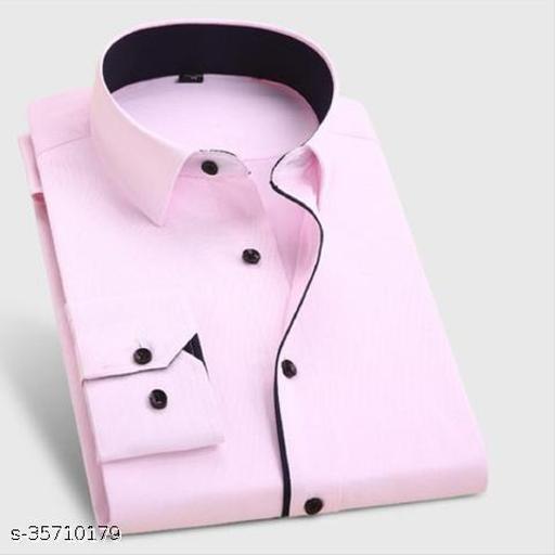 Fashion Corner Men's Heavy Formal Plain Shirt.