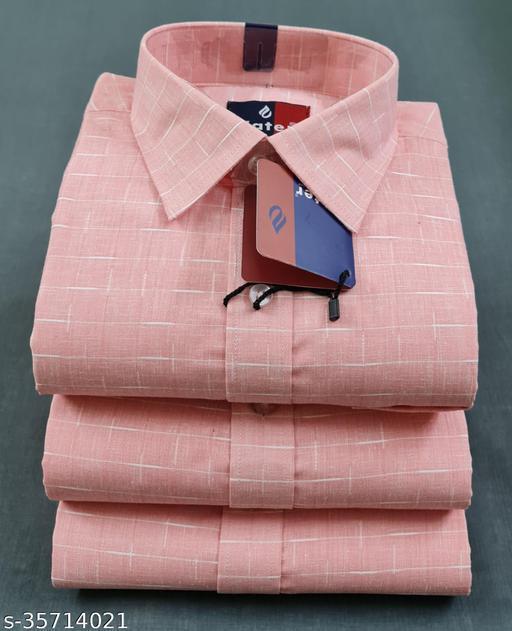 Water Cotton Flex Regular Fit Men's Shirts