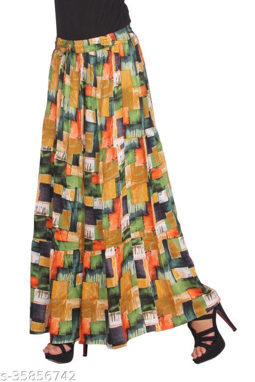 Casual Glamarous Women Western Skirts