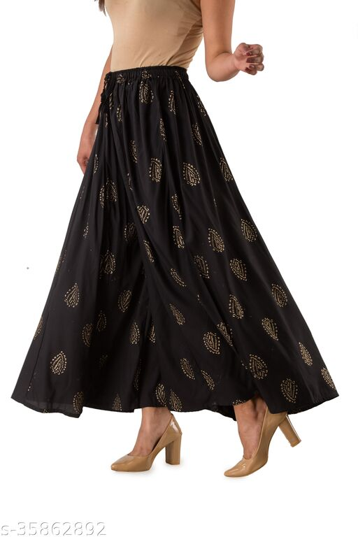HNV STYLE Skirt Palazzo Ethnic Wear For Women