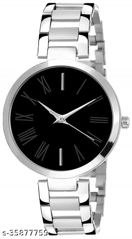 Ladies classic Half Chain Watch