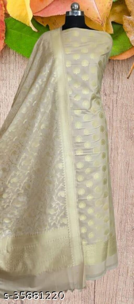 Wedding Special Banarsi Pure Silk Suit And Dress Material