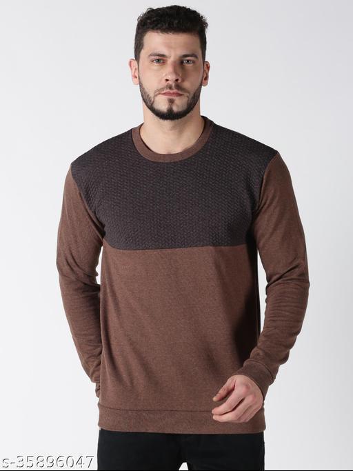 UrGear Full Sleeve Self Design Men Sweatshirt