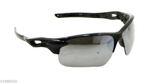 Els Men & Women, Unisex Sunglass, Sports, Black (G229-BL-SL-MR-S)