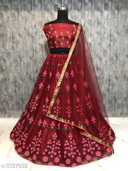 Gorgeous Bangalori Silk Women's Lehenga