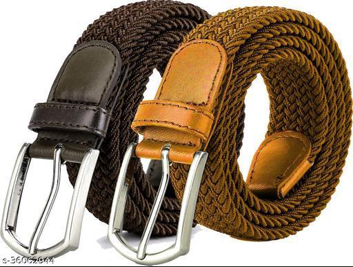 ZORO Ladies Stretchable Belt Combo (Pack of 2)