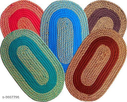 Trendy Cotton & Polyester Doormats Combo