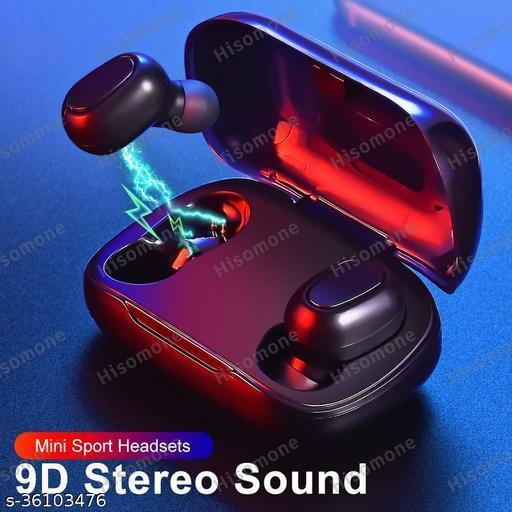 Grostar TwsL21 Mini Wireless Bluetooth Headset / Earphone Bluetooth Headset  (Black, In the Ear)