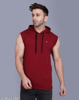 Men's Casual Hooded Tshirt
