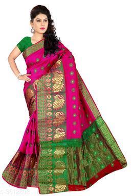 Banarasi Cotton Silk