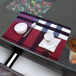Elite Solid Table Placemat (Pack Of 6)