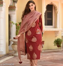 Trendy Sensational Women Dupatta Sets