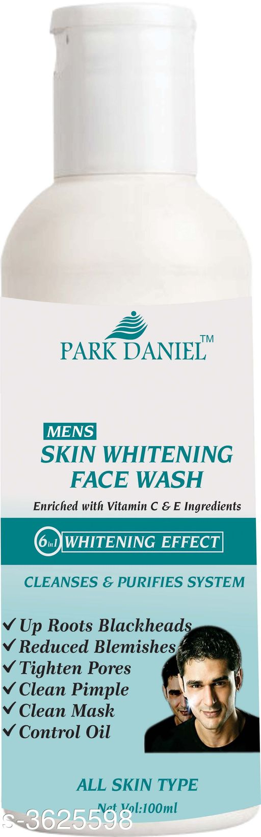 Face Mens Instant Whitening Face Wash for Instant Face Whitening & Brightening(100 ML)   *Product Name* Mens Instant Whitening Face Wash for Instant Face Whitening & Brightening(100 ML)  *Brand Name* Park Daniel  *Product Type* Face Wash  *Capacity* 100 ml  *Product Description*