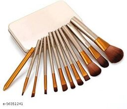 COSMO MAKEUP BEAUTY BRUSH COMBO OF 12(Pack of 12)