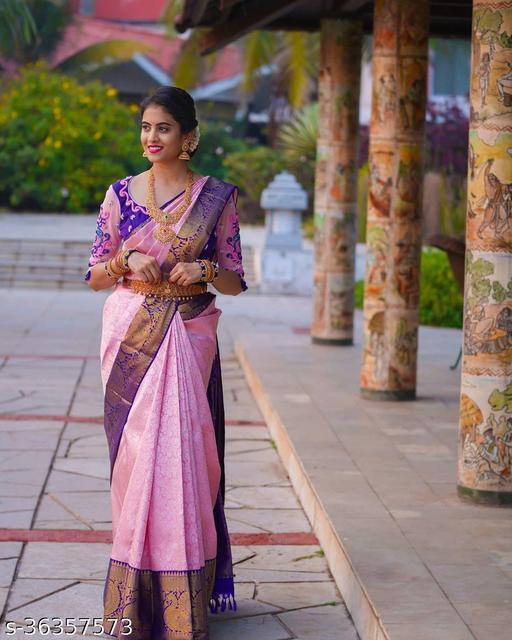 Woman Trendy Banarasi Saree