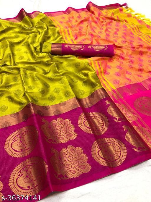 Ayesha More Aura Cotton Silk Saree
