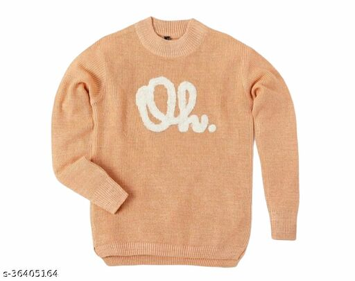Agile Elegant Girls Sweaters