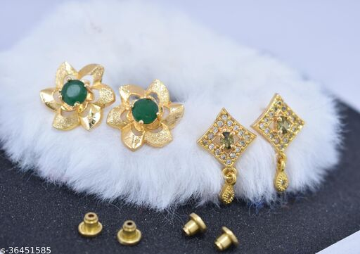 Trendy Women's Earrings Pack of 2 Combo