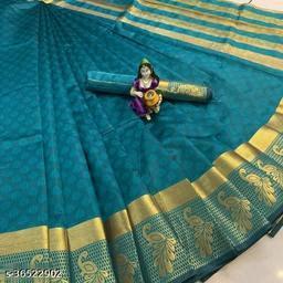 Kanjivaram Art silk Saree