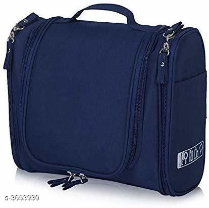 Trendy Polyester Cosmetic Bag