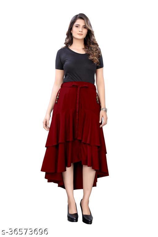 Gorgeous Latest Women Skirt
