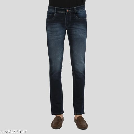 Crocks Club Comfortable Stretch Stylish Denim Jeans For Men's