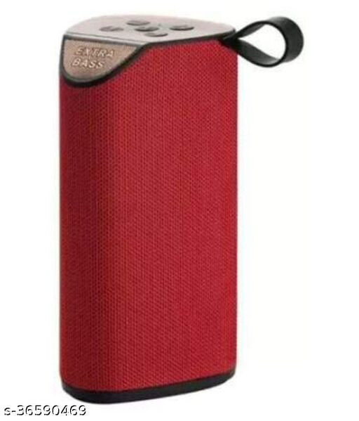 GT 111 PORTABLE WIRELESS BLUETOOTH SPEAKER RED