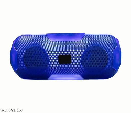 KAM A-006 Party Light With High Powerful Sound Quality With Powerful multispeaker Bass D Card,Aux,Pendrive,Bluetooth,Calling Supported 6 W Bluetooth Speaker 125 W Bluetooth Speaker(BLue 4.1 10 W Bluetooth Speaker(Blue, 4.1 Channel)