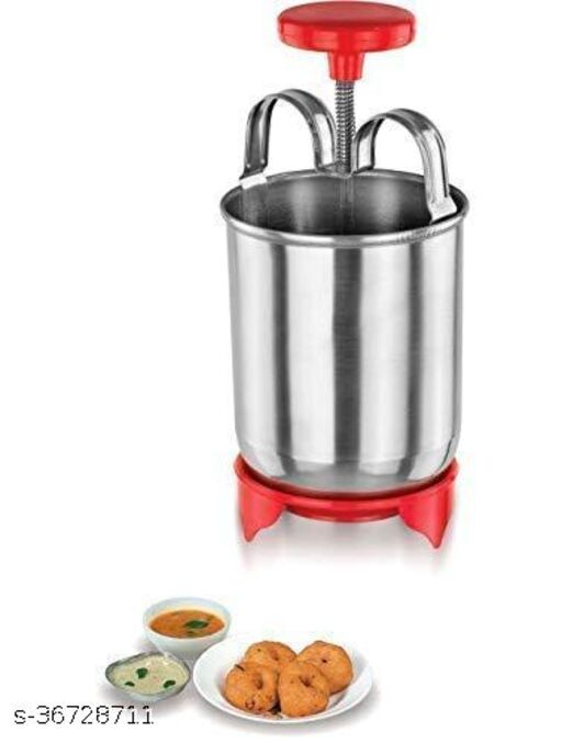 Stainless Steel MEDUVADA Maker for Perfectly Shaped & Crispy Medu Vada, Hygienic Without Any Hassle. 1psc