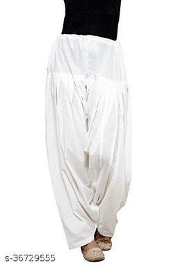 Women's Ethnic Cotton Patiyala Salwar Free Size