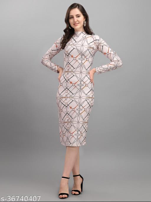 Raj creation Women's Bodycon Dress