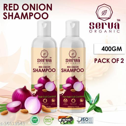 Serva Organic Onion  Shampoo