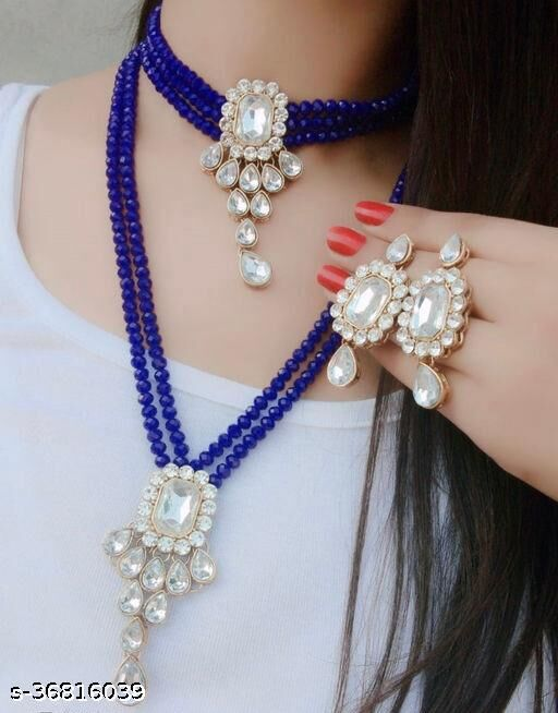 Feminine Fancy Jewellery Sets