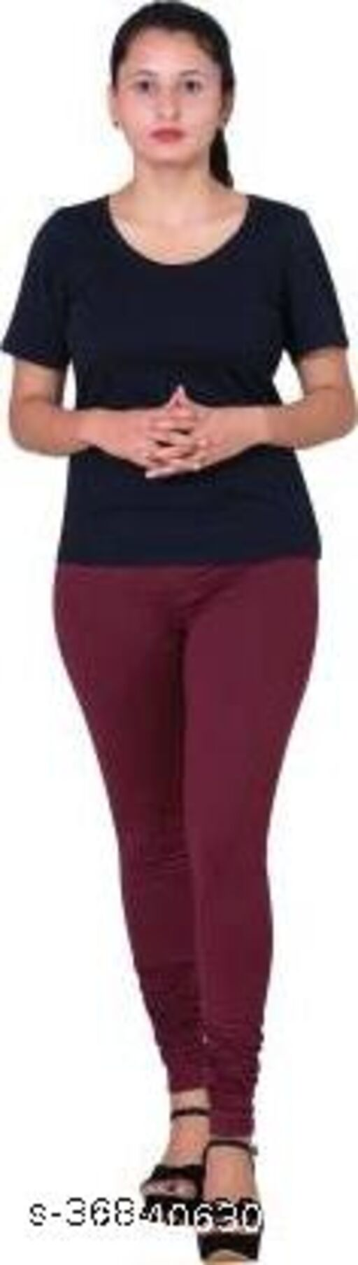 A.S. APPARELS Western Wear Legging Full Lenth Free Size For Women And Girls