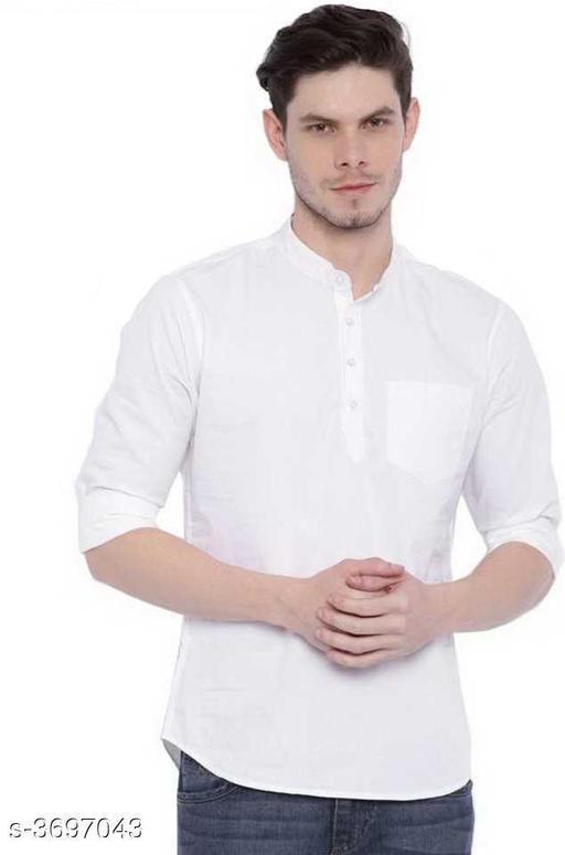Elite Trendy Cotton Linen Blend Men's Kurta