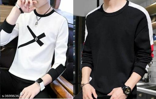 Fashion Globe Best Selling Full Sleeves  T shirt for man