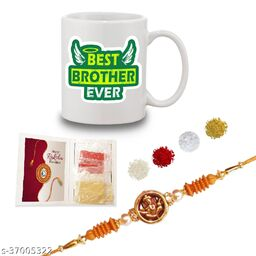 Rakshabandhan Gifts for Brother Best Brother ever Quote printed Coffee Mug 330 ml - Birthday Gift for Brother, Raksha Bandhan Gifts, Best Silver Rakhi Gifts for Brother