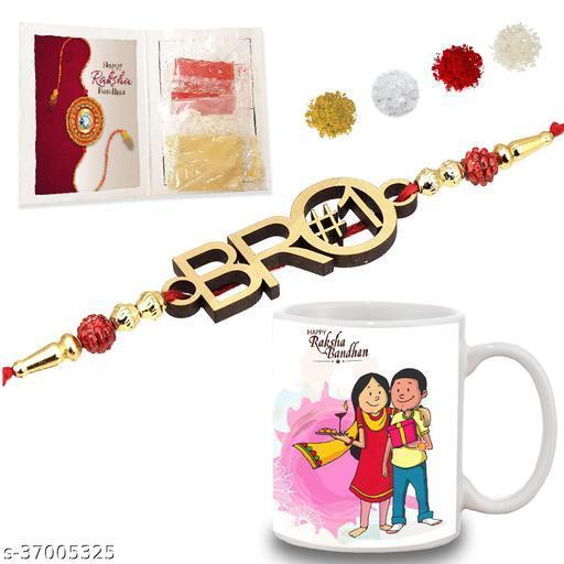 BANDHAN Rakshabandhan Gifts for brother | Bro Sis printed coffee mug (330ml) |Best bro rakhi gift