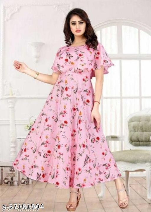Aagam Drishya Gown