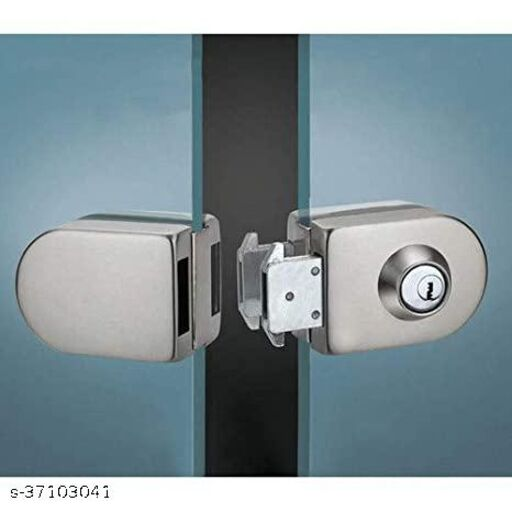 Glass to Glass Door Lock Oval