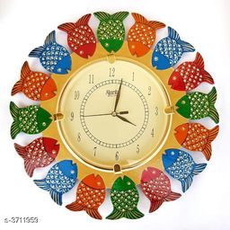 MDF Wood Designer Wall Clock