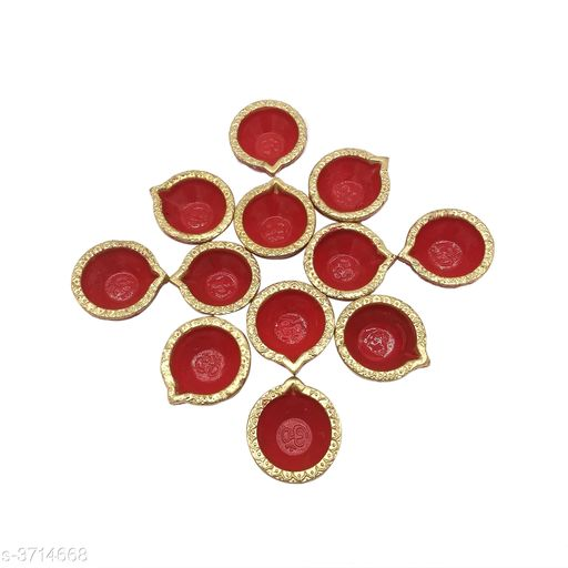 Festive Diyas & Candles Home Decorative Diya & Candle  *Material* Wax   *Size* Free Size   *Description* It Has 12 Pieces Of Diyas  *Sizes Available* Free Size *    Catalog Name: Trend Home Decorative Diya & Candles Vol 1 CatalogID_519045 C128-SC1604 Code: 991-3714668-